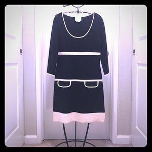 NWOT Navy/Ivory Kate Spade Knit Dress ♠️